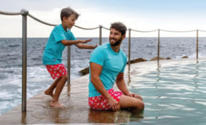 Tom & Teddy Board Shorts for Boys And Dads In Singapore