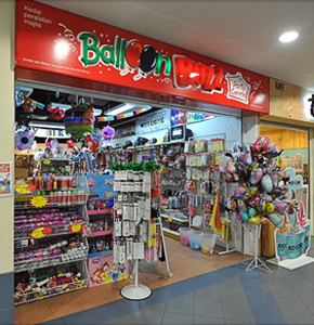 Party supplies and decorations shop in Kuala Lumpur near me at Balloon Buzz