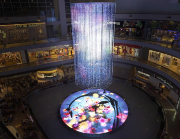 Digital Light Canvas At MBS In Singapore