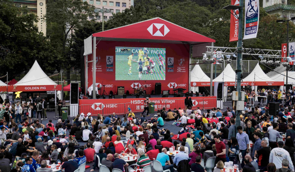 Image of Rugby Sevens Fan Zone Hong Kong