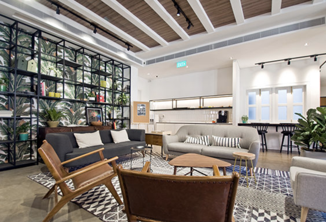Co working spaces in Singapore - The Co