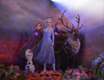 Frozen Exhibition With Life Size 3D Projections In Hong Kong