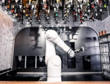 Ratio Robotic Café And Lounge In Singapore